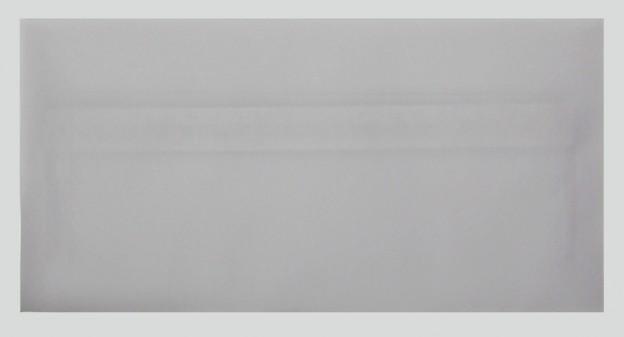 Briefumschlag DinLang transparent haftklebend Vorderansicht
