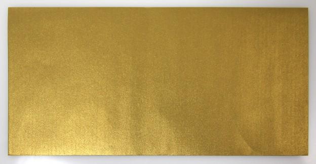 Briefumschlag Gold, 110×220 mm Vorderansicht