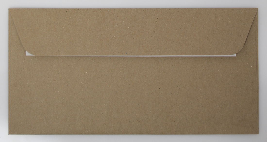 Briefumschlag Braun Dl Quadrat Online Druckbiz