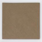 Briefumschlag Braun Quadrat Vorderansicht