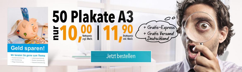 50 Plakate - 10 Euro