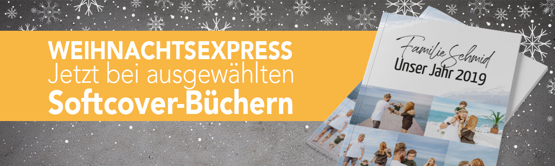 Weihnachtsexpress bei Online-Druck.biz