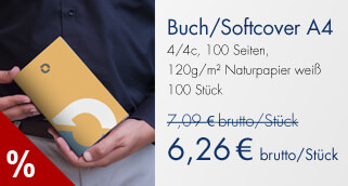 Buch/Softcover A4 Angebot